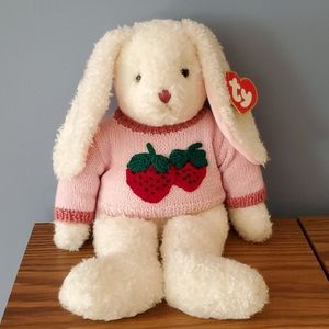 "Vintage TY ""Curly"" Bunny"